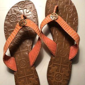 Tory Burch Flip Flop - Coral